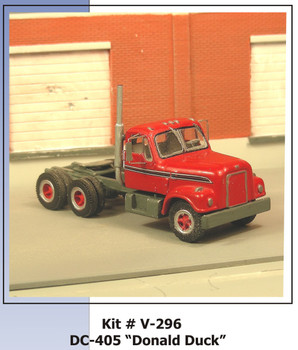 HO 1:87 Sylvan V-286  - 1961/72 International DC 405 Donald Duck Tractor KIT