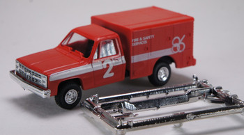 HO 1:87 Trident # 90117 Military M1031 USAF Maintenance Truck Chevy Red