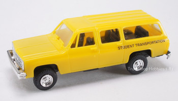 HO 1:87  Trident # 90116 Chevy Suburban 4 x 4 - School Bus