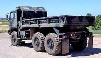 HO 1:87 Trident # 81006 - M1090 - 5-Ton 6 x 6 MTV 5-Yard Dump Truck KIT