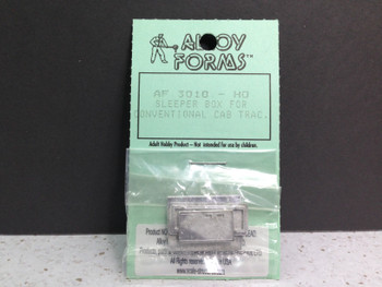 HO 1:87 Alloy Forms # 3010 Sleeper Box for Conventional Day Cab Tractors KIT