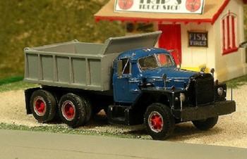 HO 1:87 Sylvan V-290- 1956-66 Mack B-81 Tandem Axle Dump Truck KIT