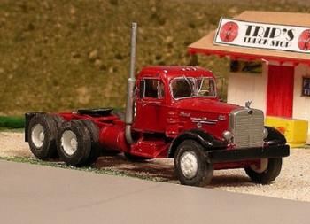 HO 1:87 Sylvan V-245 - 1950-56 Mack LTSW Tandem Axle Tractor KIT