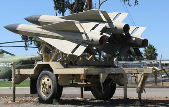 HO 1:87 Trident # 87075 Hawk MIM-23B Improved Missile Launch/Control  Sys. w/3 SAM's