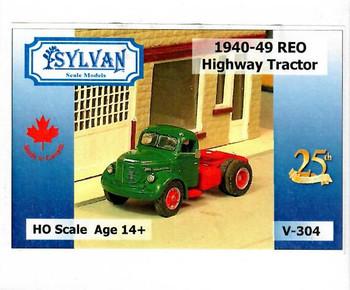 HO 1:87 Sylvan V-304 - 1940-49 Reo Highway Tractor KIT