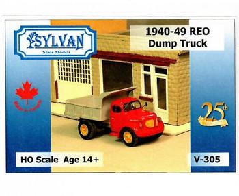 HO 1:87 Sylvan V-305 - 1940-49 Reo Dump Truck KIT