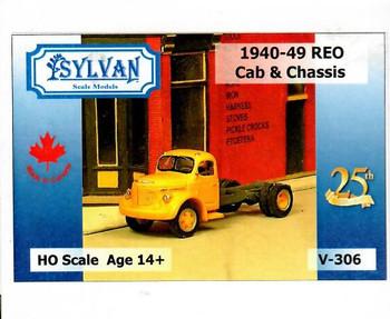 HO 1:87 Sylvan V-306 - 1940-49 Reo Cab & Chassis KIT