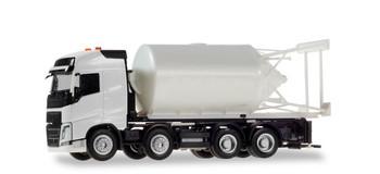 HO 1:87 Herpa # 13604  Volvo FH Straight Truck w/Bulk Tank MINIKIT