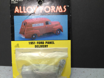 HO 1:87 Alloy Forms # 2041  - 1951 Ford Panel Delivery Van KIT