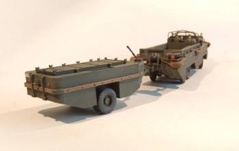 "HO 1/87 ArsenalM DUKW ""Duck"" Amphibian w/WTCT-6A""Duckling"" Trailer Resin KIT"