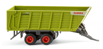 HO 1:87 Wiking # 38199 - Claas Forage Trailer - Green