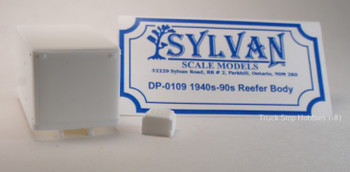 HO 1:87 Sylvan # D-0109 Refrigerated Body w/Reefer ONLY - KIT
