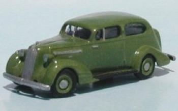 HO 1:87 Sylvan Scale Models # V-039 1935 Pontiac 2-Door Sedan KIT