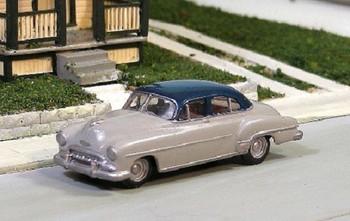 HO 1:87 Sylvan Scale Models # V-162 - 1952 Chevy 4-Door Sedan KIT