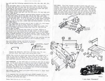 HO 1:87 Alloy Forms # 3086 Generic Firetruck Pumper Body KIT