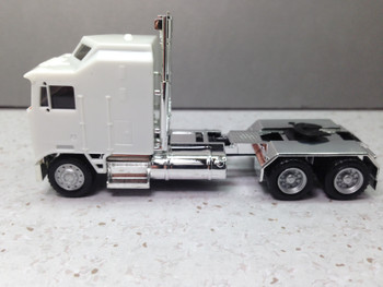 HO 1:87 Promotex # 35259W KW K-100 1 Bar Grill X-Long Chrome Chassis White