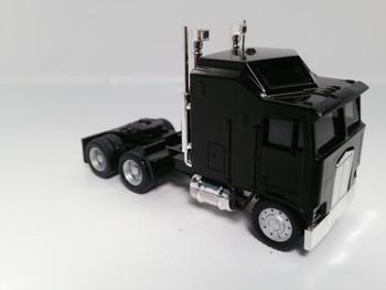 HO 1:87 Promotex # 25258 KW K-100 1 Bar Grill Tandem Semi Tractor Black