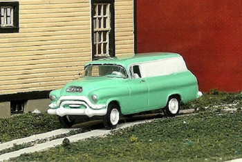 HO 1:87 Sylvan # V-318 - 1955-56 GMC 1/2 Ton Panel Truck KIT