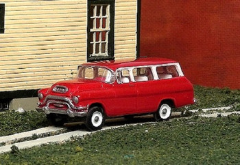 HO 1:87 Sylvan # V-319 - 1955-56 GMC 1/2 Ton Suburban Truck KIT