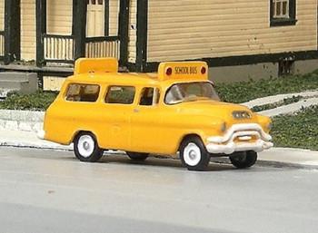 HO 1:87 Sylvan # V-320 - 1955-56 GMC 1/2 Ton Suburban School Bus  KIT
