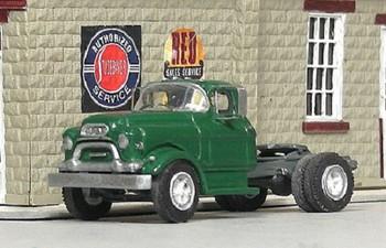 HO 1:87 Sylvan # V-321 - 1955-56 GMC 660 Single Axle Tractor  KIT