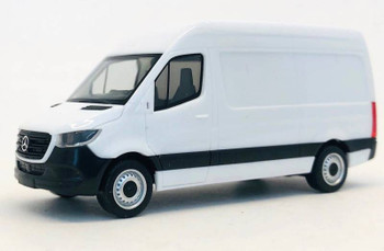 HO 1:87 Promotex # 6593 - 2018 Mercedes Sprinter Van - White