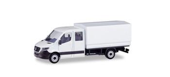 HO 1:87 Herpa # 13499 Mercedes Sprinter Crewcab Delivery Truck MINIKIT