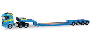 HO 1:87 Herpa # 311397 Scania CR ND Lowboy Heavy Haul Semi - Martin Wittwer