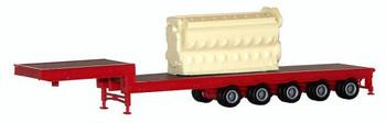 HO 1:87 Promotex # 5402 - 16 Cylinder Engine Truck Load (Cast Resin)