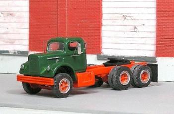 HO 1:87 Sylvan # V-284 - 1956-66 White 9000 Tandem Tractor Day Cab KIT