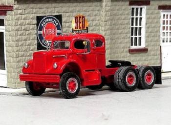 HO 1:87 Sylvan # V-285 - 1956-66 White 9000 Tandem Tractor Sleeper Cab KIT