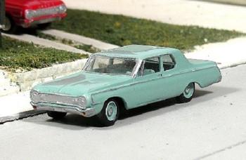 HO 1:87 Sylvan # V-280 - 1964 Dodge 330  2-Door Sedan KIT