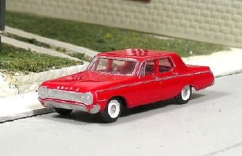 HO 1:87 Sylvan # V-281 - 1964 Dodge 330  4-Door Sedan KIT