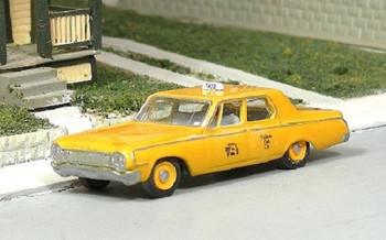 HO 1:87 Sylvan # V-282 - 1964 Dodge 330  4-Door Sedan Taxi Cab KIT