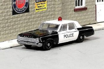 HO 1:87 Sylvan # V-283 - 1964 Dodge 330  4-Door Sedan Police Car KIT