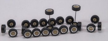 HO 1:87 Herpa # 54102 BBS Sports Car Tires/Rims (6-2 axle sets) 6.0mm
