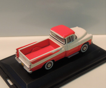 HO 1:87 Oxford 1957 Dodge Sweptside Pickup - Tropical Floral/White DP57001