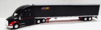 HO 1:87 TNS #121 - KW T680 Sleeper w/53' Reefer Van JEM Transport