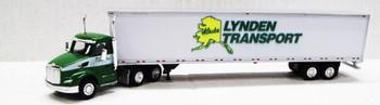 HO 1:87 TNS #016 - Peterbilt 579 Day Cab /53' Dry Van - Lynden Transport