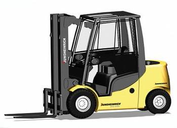 HO 1:87 Herpa # 156660 - Forklift - Jungheinrich