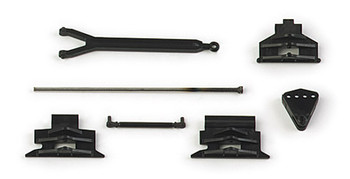 HO 1:87 Herpa # 51811 Push And Pull Bars For Tractors (7 pcs.)