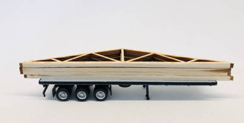 HO 1:87 Promotex # 5508 Wood Trusses Rafters Load