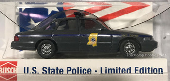 HO 1:87 Busch State Police 49076 Ford Crown Vic Mississippi State Patrol Car