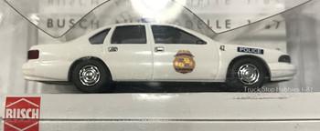 HO 1:87 Busch 47626 Chevy Caprice Honolulu Police Car