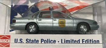 HO 1:87 US State Police Busch 47682 Chevy Caprice Iowa State Patrol Car