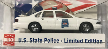 HO 1:87 US State Police Busch 47689 Chevy Caprice Alabama State Trooper Car