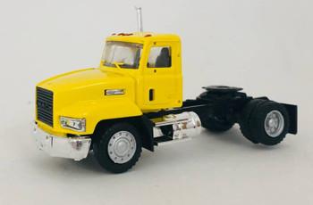 HO 1:87 Promotex # 450010 Mack 603 Single Axle Day Cab Tractor -  Yellow