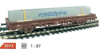 HO 1:87 Loewes Model # 2073 Bridge Girder Truck/Train Car Cargo Load - Voestalpine