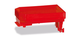 HO 1:87 Herpa # 53716-002 Weight Box for Goldhofer Trailer Module (2) Red
