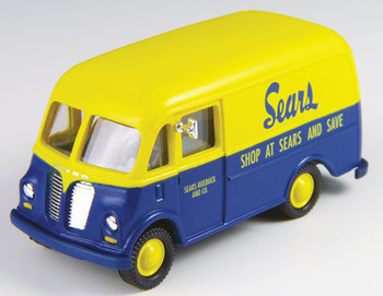 HO 1:87 Classic Metal # 30387 - International Metro Van - Sears Roebuck Co.